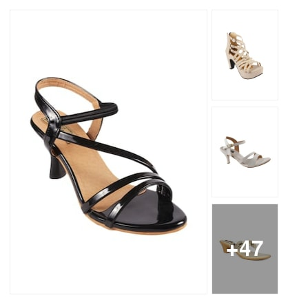 Sandals. Online shopping look by Teju