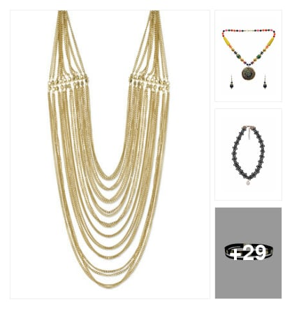 Nice looking neck piece . Online shopping look by sujatha