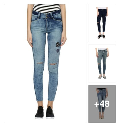 Denim jeans. Online shopping look by chinna