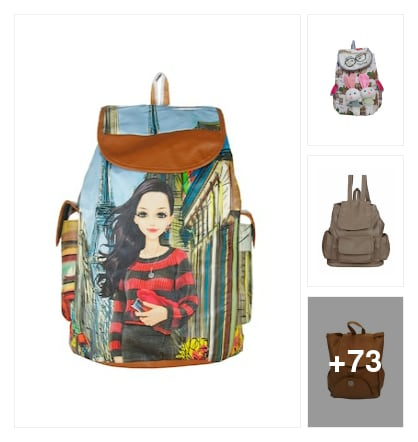 IMPRESSIVE BACKPACKS . Online shopping look by raghava