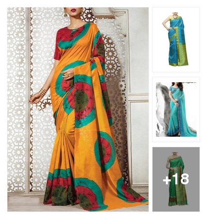 new arrivals sarees. Online shopping look by sudhi