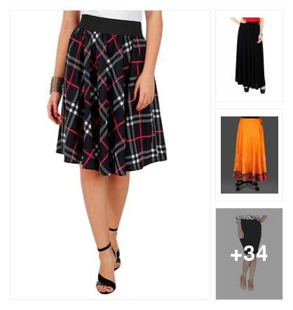 #skirt . Online shopping look by Padma