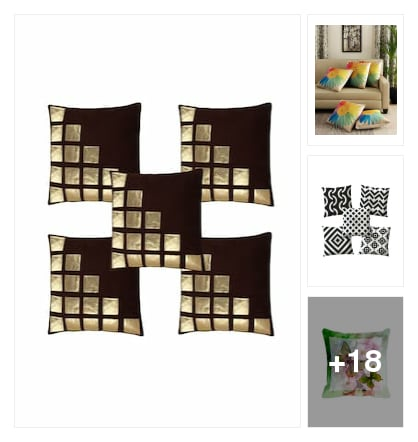 Cushions and throws. Online shopping look by keerthik837@gmail.com