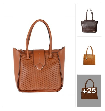Hand picked hand bags. Online shopping look by Krishna