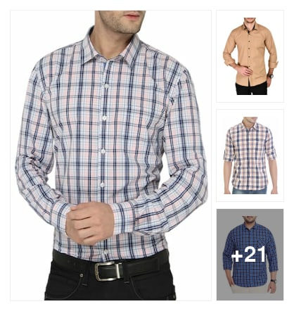 RECOMENDED  SHIRTS  FOR   GENTS. Online shopping look by Lakshmi
