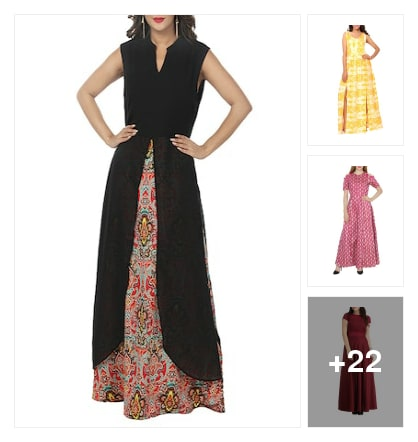 Osam dress only for u . Online shopping look by Meeti Patel