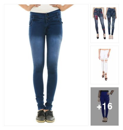 JEANS. Online shopping look by Reethu
