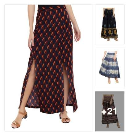 skirts. Online shopping look by janshi