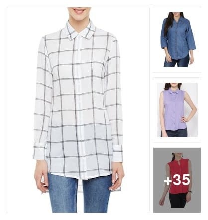 ethinic shirts. Online shopping look by Subha