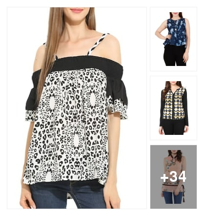 Your favorite tops on discount. Online shopping look by Chandan