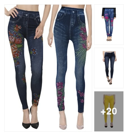 ethinic jeans. Online shopping look by Subha