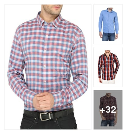Casual shirts on limeroad. Online shopping look by ARJUN