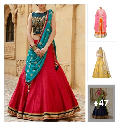 Navratri special. Online shopping look by Antares