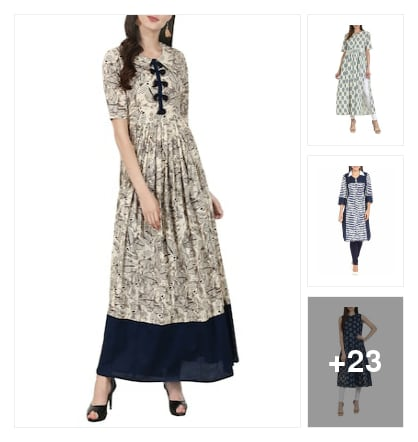 #trendy kurta by nayo. Online shopping look by Kriti