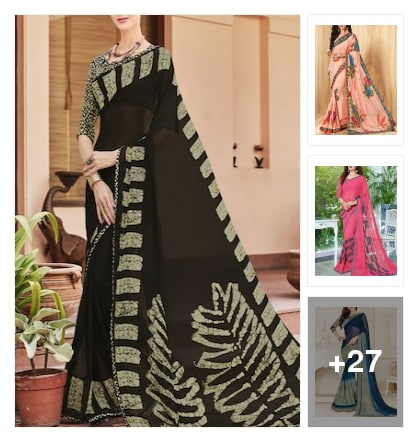 @saree collection . Online shopping look by sadhana