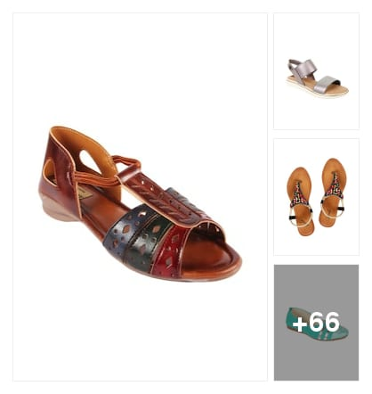 Flats. Online shopping look by Manasvini