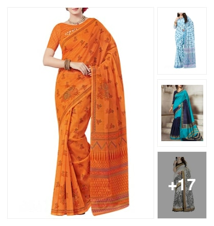#beautiful sarees. Online shopping look by Kriti