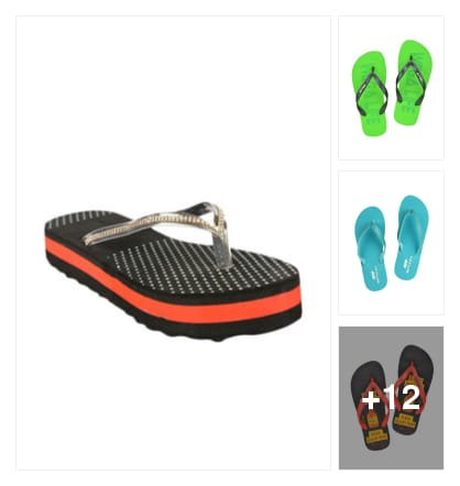 #slippers and flip-flops. Online shopping look by palli