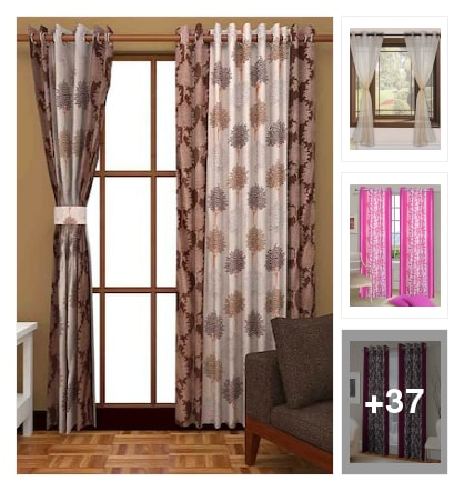 Curtains for your beautiful home. Online shopping look by vihaan