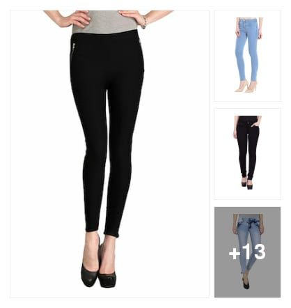 Jeans + jeggings. Online shopping look by nikku.gupta512