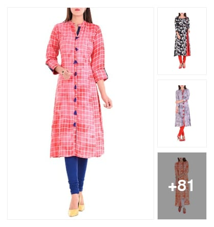 MULTICOLORED KURTAS. Online shopping look by vihaan