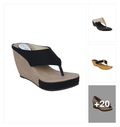 Wedges . Online shopping look by mark