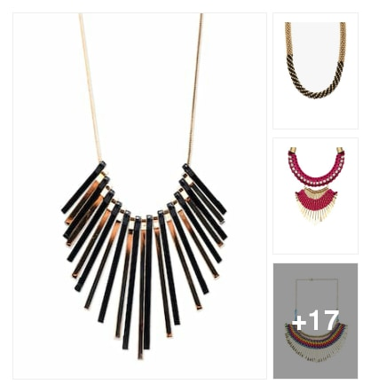 Necklaces. Online shopping look by keerthik837@gmail.com