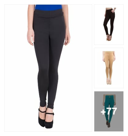 Jeggings. Online shopping look by sapna