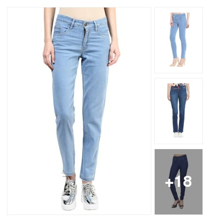 Denims Are Forever. Online shopping look by Sunehri