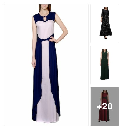Gorgeous maxi dresses for pretty girls. Online shopping look by meenu