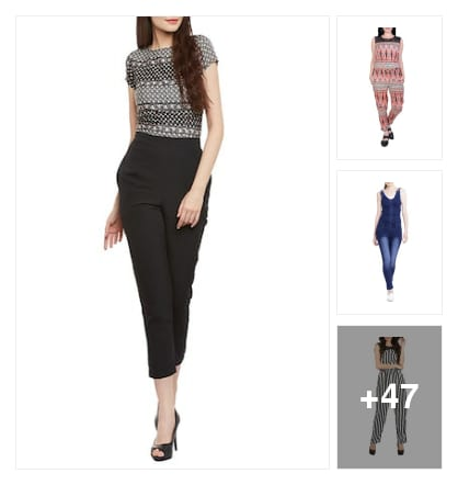 50 stylish jumpsuits for girls. Online shopping look by meenu