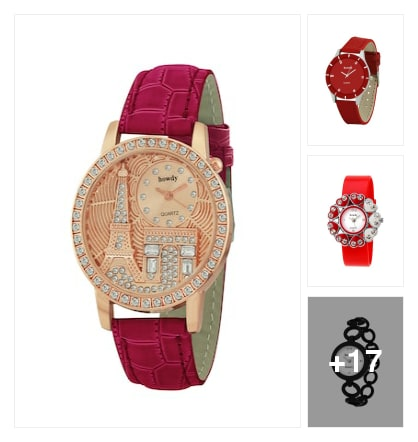 Lovely Wrist Watches . Online shopping look by Sunehri