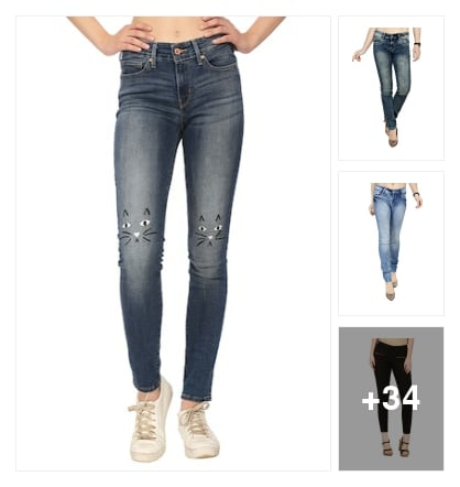 Perfect Jeans for girls. Online shopping look by lakshmi