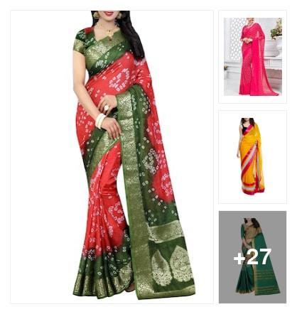 special sarees. Online shopping look by Supreme