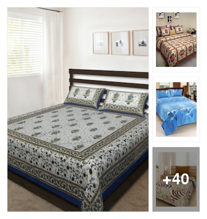 attractive colour beds. Online shopping look by mahesh