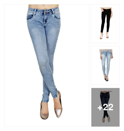 best jeans for girls. Online shopping look by kavya