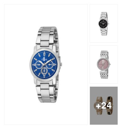 Girls watches. Online shopping look by meenu