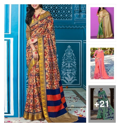 Sarees. Online shopping look by Sailaja