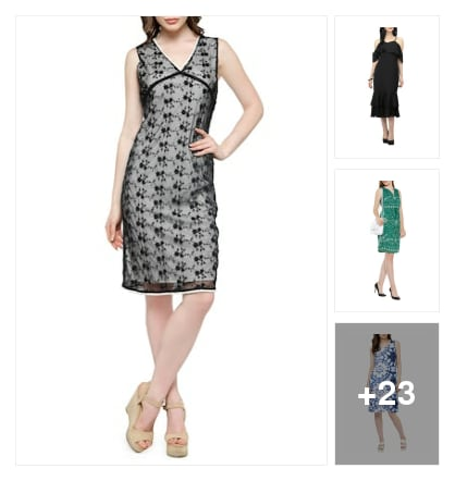 DRESSES. Online shopping look by Prakasham