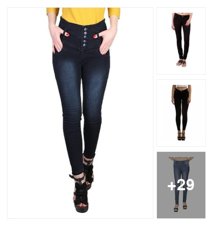 Jean look. Online shopping look by anitha