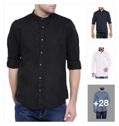 #good looking shirts . Online shopping look by Kriti