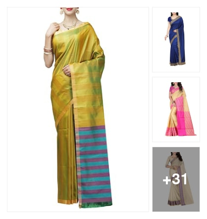Make Durga celebrations a breeze . Online shopping look by Harika