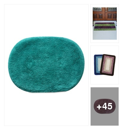 Different Bath mats. Online shopping look by savita