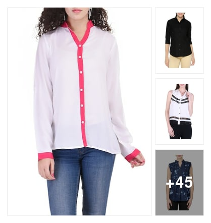 Recommended shirts for u. Online shopping look by Teju