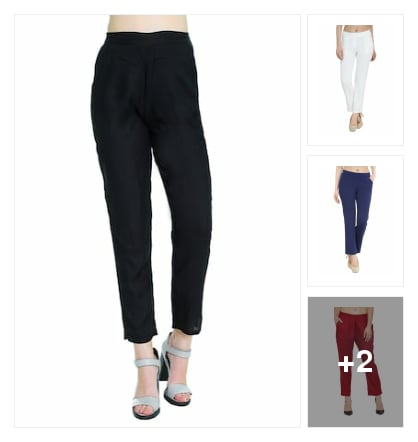 Trouser. Online shopping look by kalpana