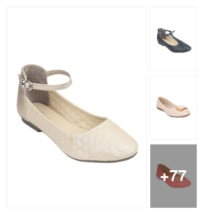 💛Trending Ballerinas💛. Online shopping look by 💕Neha💕