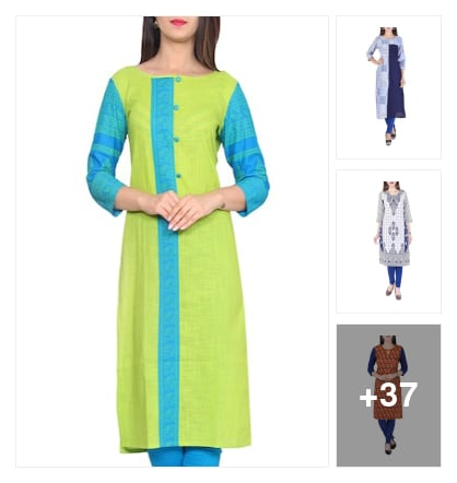 Elegant kurtas. Online shopping look by Lucky