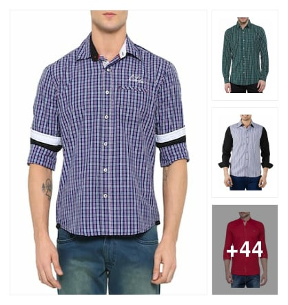 Shirts for men. Online shopping look by Lucky