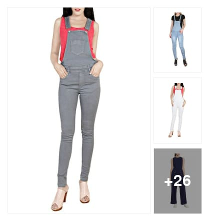 Loving the casual vibes of these jumpsuits . Online shopping look by Harika