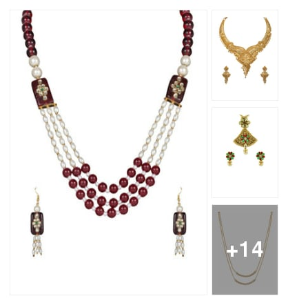 NECKPIECE UNDER 400. Online shopping look by r